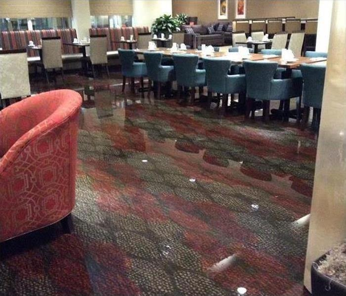 Water Damage – Laconia Hotel Before