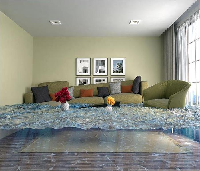Storm Damage The Benefits Of Hiring SERVPRO To Mitigate Your Flood Damage Disaster In Belmont